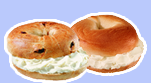 Assorted Bagels and Cream Cheeses