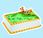 Winnie the Pooh, Tigger and Piglet Ice Cream Cake
